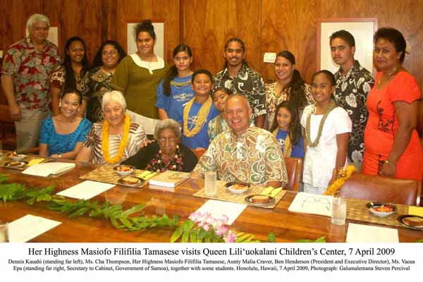 09. Visiting Liliuokalani Childrens Centre